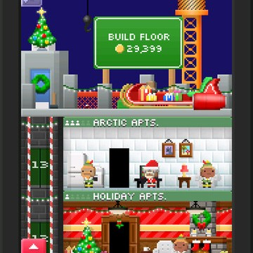 Celebrate The Holidays With Your Beloved Bitizens In Tiny Tower
