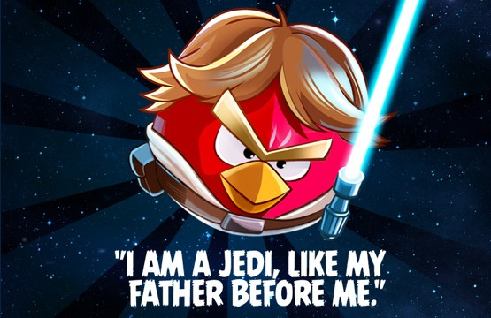 Rovio Unleashes Full Gameplay Trailer From Angry Birds Star Wars
