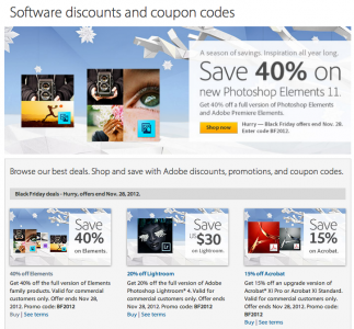 Adobe Announces Huge Sale On Some Of Their Most Popular Titles
