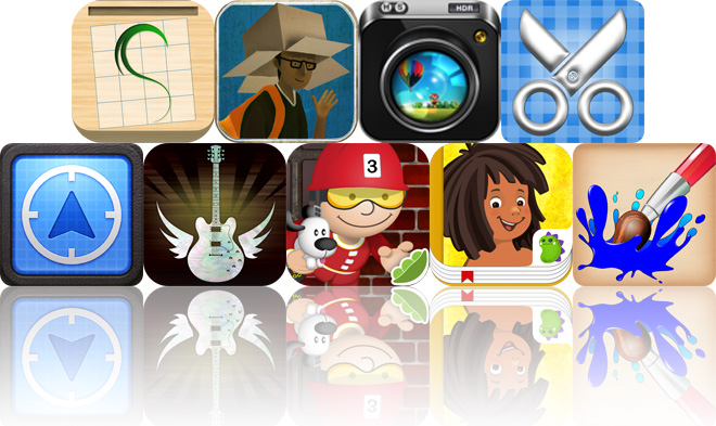 Today's Apps Gone Free: Tracing Paper, The Artifacts, HDR FX Pro And More
