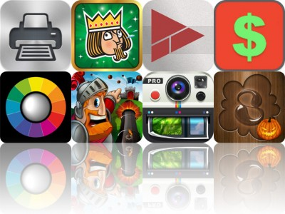 Today's Apps Gone Free: Printer Pro, Swipe The Deck, Tunebooth And More
