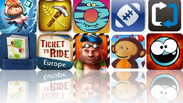 Today's Apps Gone Free: LostWinds2, Puzzle Craft, Little Digits And More