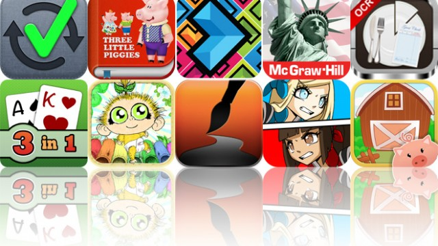 Today's Apps Gone Free: To Do Checklist, 3 Little Piggies, Directional And More