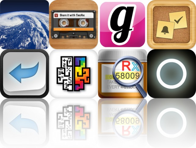 Today's Apps Gone Free: Earthlapse, TinyVox, BugMe! Stickies And More