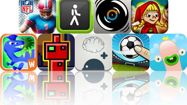 Today's Apps Gone Free: NFL Kicker 13, Walk Tracker Pro, Air Scratch And More