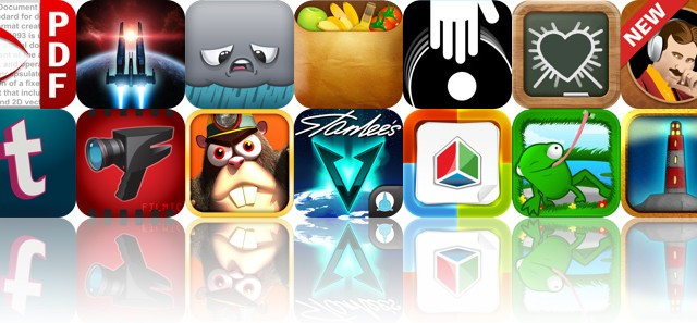 Today's Apps Gone Free: PDF Expert, Galaxy On Fire 2, Negative Nimbus And More