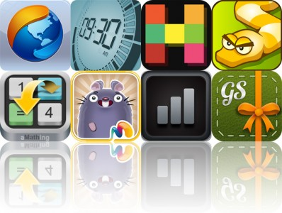 Today's Apps Gone Free: Mercury Browser Pro, Touch LCD, HUEBRIX And More