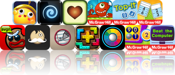 Today's Apps Gone Free: Super Snack Time, Elasticam, Avocado And More