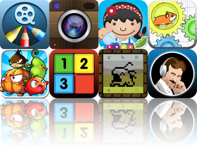Today's Apps Gone Free: Draw And Show, iMajiCam Pro, ABC House And More