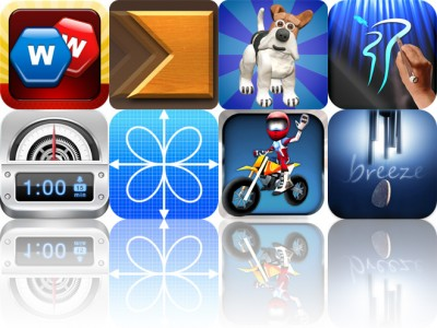 Today's Apps Gone Free: WordsWorth, Cross Fingers, Agility Dogs And More