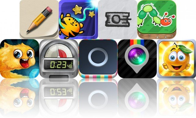 Today's Apps Gone Free: SketchTime, Electric Tentacle, Lead Wars And More