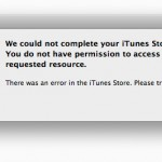 Updated: Both iTunes And The App Store Seem To Be Working Now