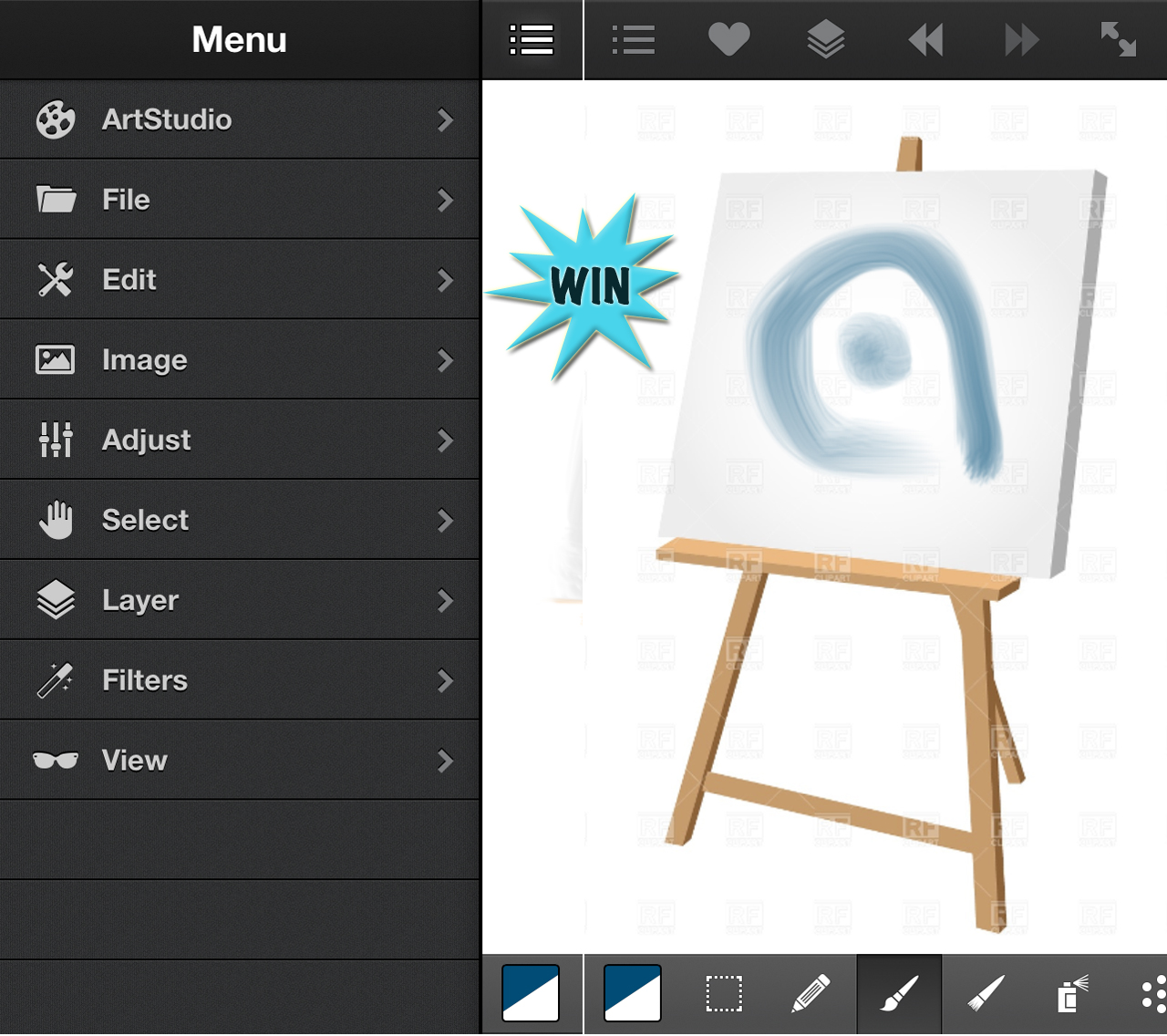 Gain Extensive Image Creation And Editing Tools By Winning ArtStudio For iPhone