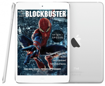 Blockbuster Magazine Launches, Offering Free Movie and Gaming News On The iPad