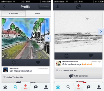 Colorized 2.0 Combines Art Creation With Social Networking In A Fun New Way