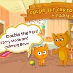 FDG Releases Their First Kid-Focused App, Color The Cartoon: Farm