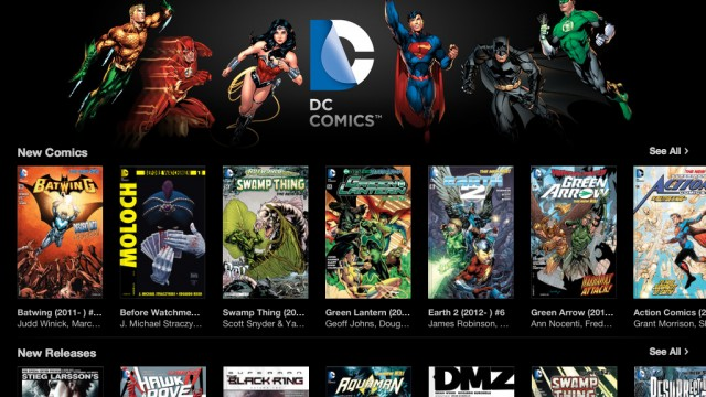 The iBookstore Becomes A Regular Distributor Of DC Comics