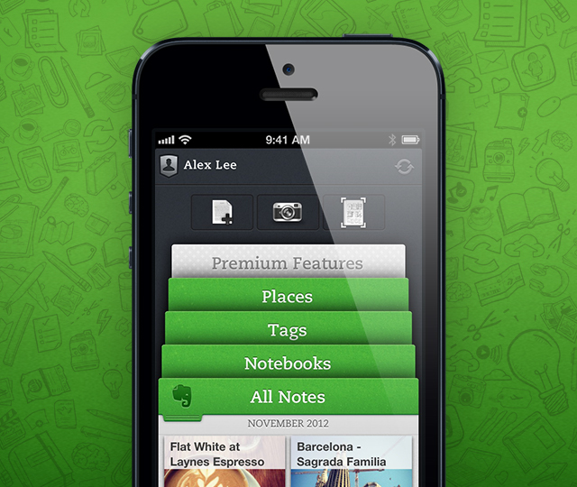 Evernote Previews Major New Update Of Its iOS App