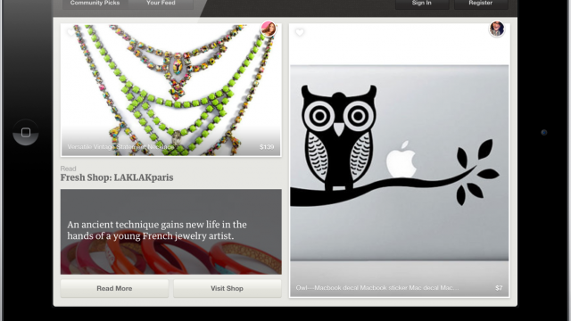 Official Etsy App Debuts On iPad