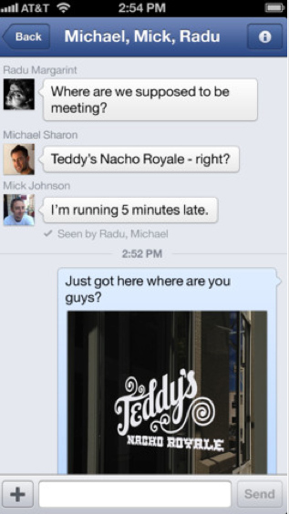 Facebook Update Focuses On Improved Photo Sharing, Chat Features