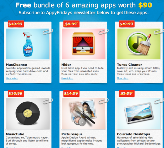 AppyFridays Offering Bundle Of Mac Applications For Free