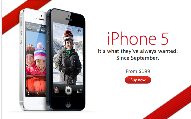 For First Time, Apple Is Shipping iPhone 5 Units In One Week