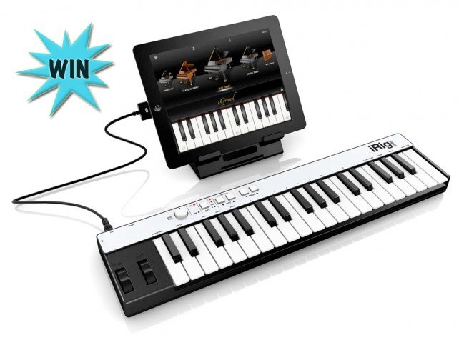 Here's Your Chance To Win An iRig Keys Package For Your Favorite Pianist