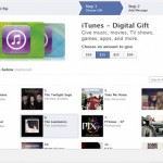 Facebook Users Can Now Purchase Digital iTunes Gifts Cards For Friends