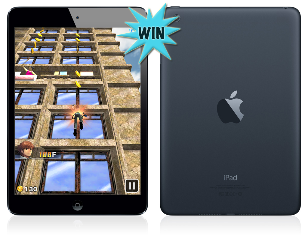 Climb As High As You Can In Pocket Climber For A Chance To Win An iPad Mini