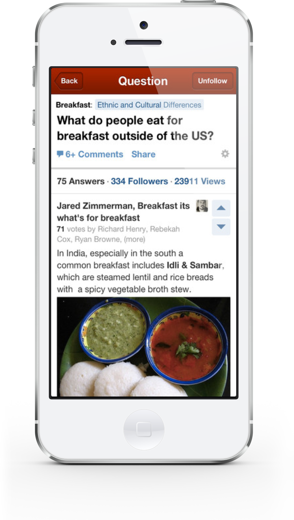Quora, The Question And Answer App, Receives New UI, iPhone 5 Support And More