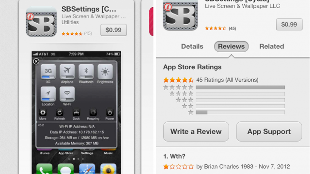 Scam Alert: Fake SBSettings Jailbreak App Appears In The App Store