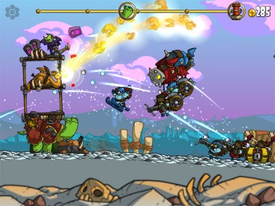 Shellrazer Update Brings 25 New Levels Of Cold-Blooded Fun