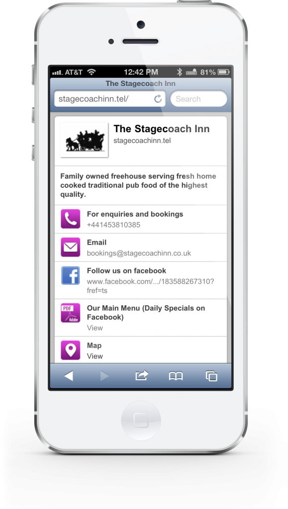 With Telnames, You Can Create And Maintain A Mobile Web Presence Using An iPhone