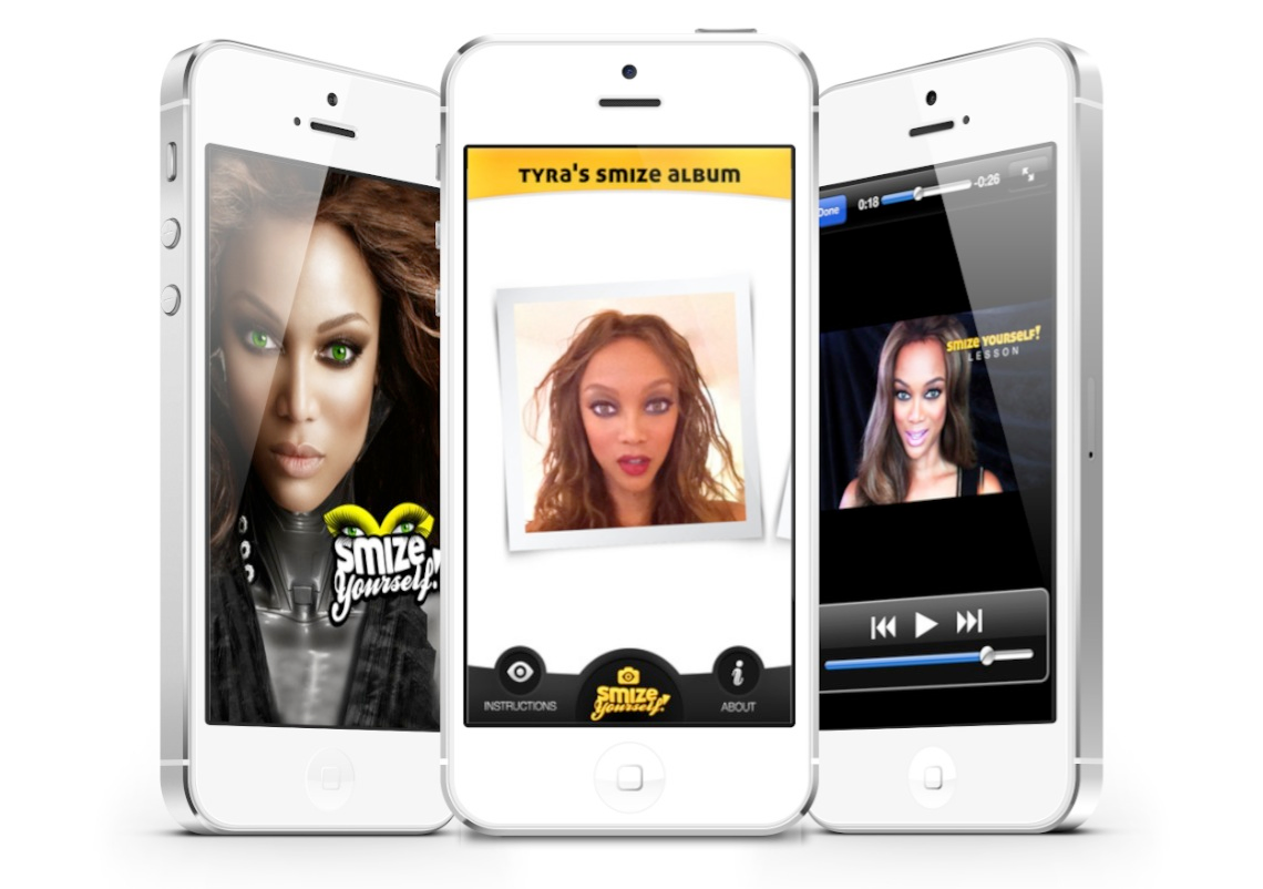 Tyra Banks' Smize Yourself! Is One Truly Bizarre App For iPhone