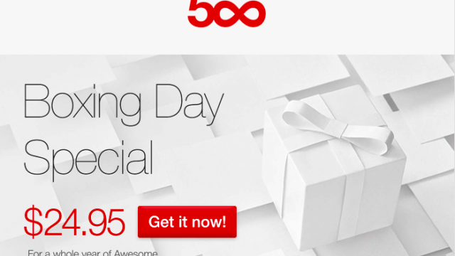 Instagram Alternative 500px Has An 'Awesome' Boxing Day Special Offer For You