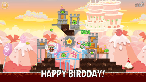 Angry Birds, The Game That Started It All, Celebrates Its Third Birdday With A Bang
