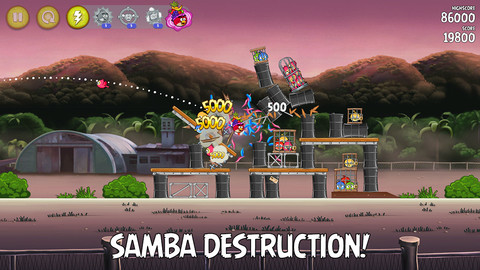Get Ready For Some Samba Destruction And TNT Explosion In Angry Birds Rio