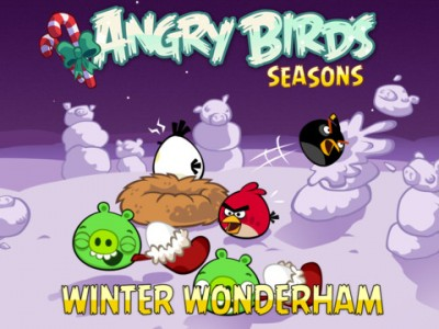 Flying In A Winter Wonderham: Angry Birds Seasons Gets New Holiday Update