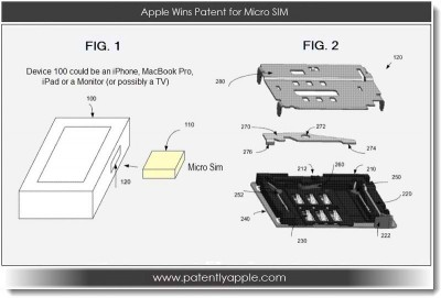 Apple Secures Significant SIM Card Connector Patent