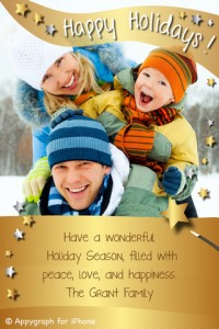 Win A $10 iTunes Gift Card And Unlock Appygraph's Premium Holiday E-Cards