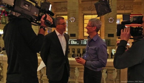 Apple CEO Tim Cook's First TV Interview To Air Next Week