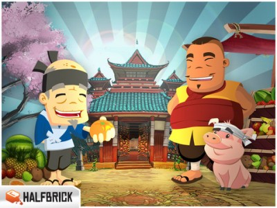 Clouds And Cherry Blossoms Abound In Newly Updated Fruit Ninja HD
