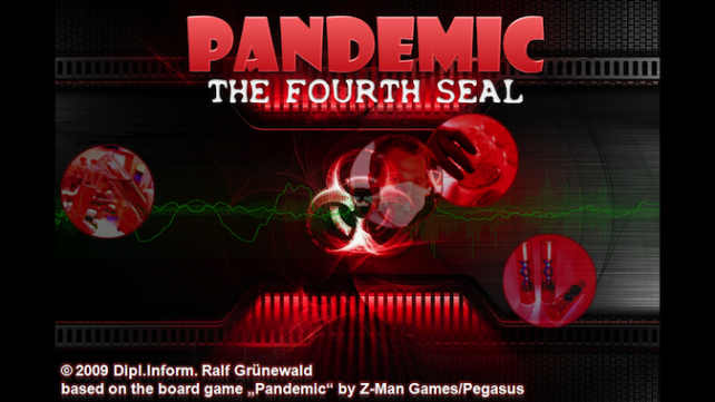 Pandemic - The Fourth Seal Board Game Comes To iOS