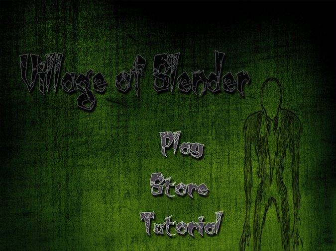 Quirky App Of The Day: Village Of Slender Brings The Computer Game To Your iDevice