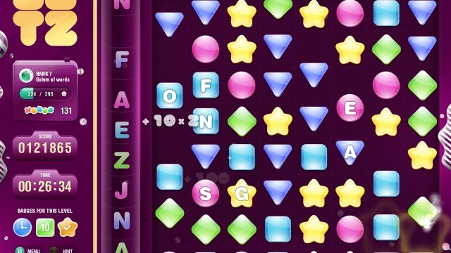 Letz: The Story Of Zed HD Combines Match-Three And Word Building In One Addictive Game