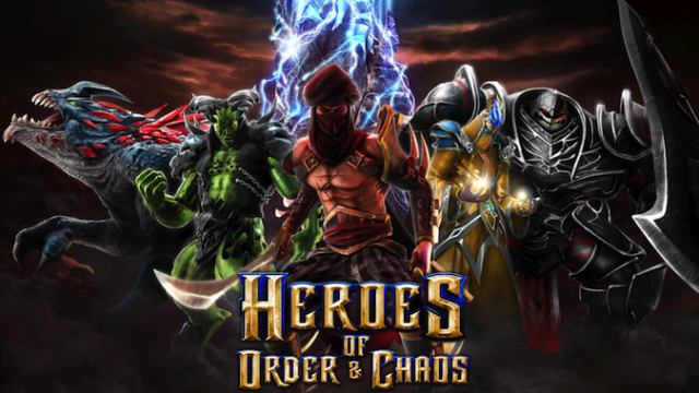 Quirky App Of The Day: Heroes Of Order & Chaos Brings A MOBA Game To iDevices