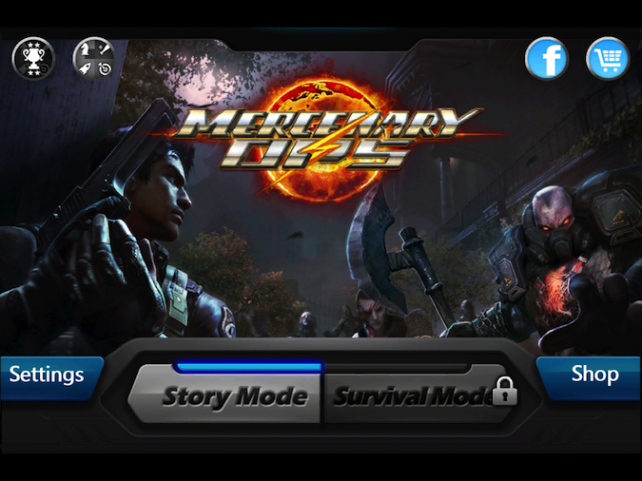 Quirky App Of The Day: Mercenary Ops Makes Light Work Of Slaying Zombies