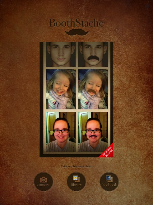 Quirky App Of The Day: BoothStache Gives You A Mustache Without The Wait Time Or Itchy Face