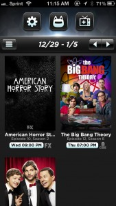 Televised Is Your Own Beautiful And Personal TV Guide On The iPhone