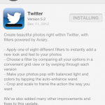 Twitter Now Offering Photo-Editing Tools Via iPhone App